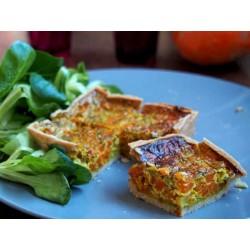 Tarte légumes aux curry (150g)